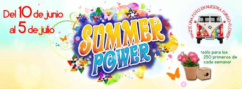Promoción Summer Power