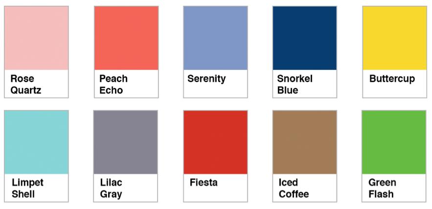 Colores en tendencia para esta primavera verano 2016 for Tendencias en colores para interiores 2016