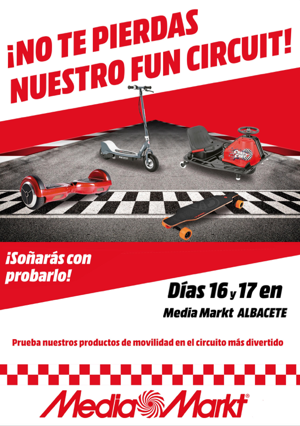 Albacete Circuit : No te pierdas el fan circuit en media markt albacete y