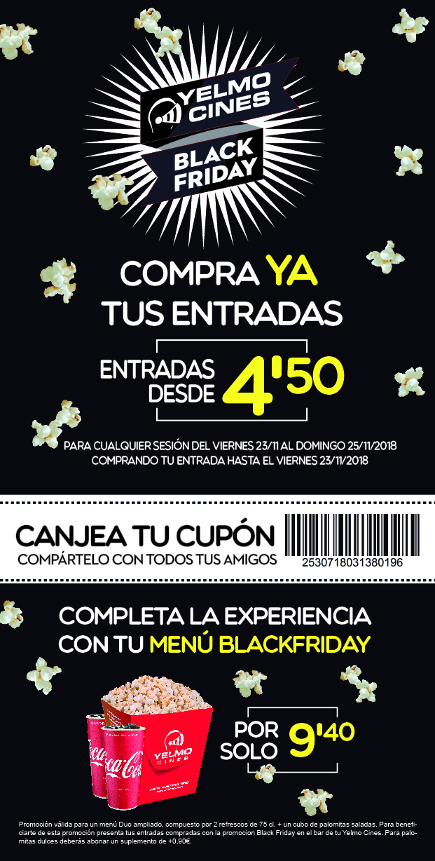 Black Friday En Yelmo Cines Centro Comercial Imaginalia