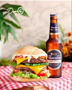 hamburguesa-o-entrecot-acompanados-de-mahou-maestra